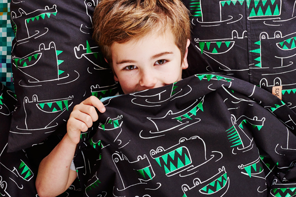 [ABODE] SNAP SNAP KIDS PILLOWCASE