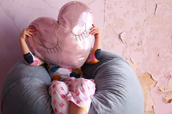[ABODE] HEART TO HEART KIDS CUSHION