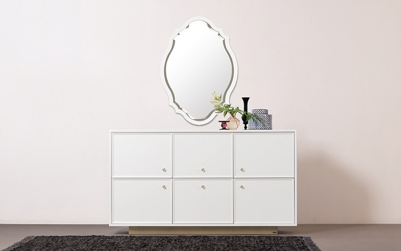 Mirror - frame antique 900 (7 colors)