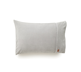 [ABODE] SILVER VELVET PILLOWCASE SET OF 2