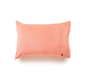 [ABODE] PEACH VELVET PILLOWCASE SET OF 2