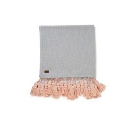 [ABODE] SCANDI TASSEL BED THROW