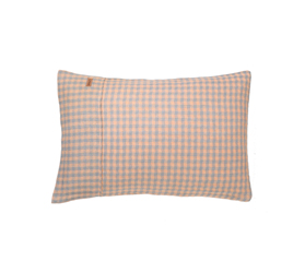[ABODE] WAFFLE MORNING LINEN PILLOWCASE SET of 2