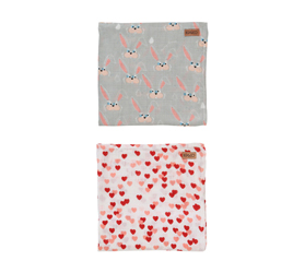 [ABODE] HOP & LOVE CHILD BABY NAP WRAPS (2 Pack)